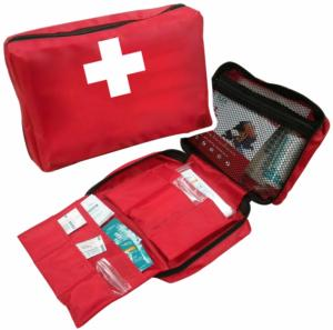 Trousse secours 1er soins 5 pers IMS902