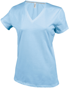 Tee-shirt de travail MC col V TATOO WOMAN IMS4509