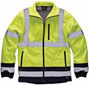 Veste de travail Softshell dickies HV DEMON IMS54SO